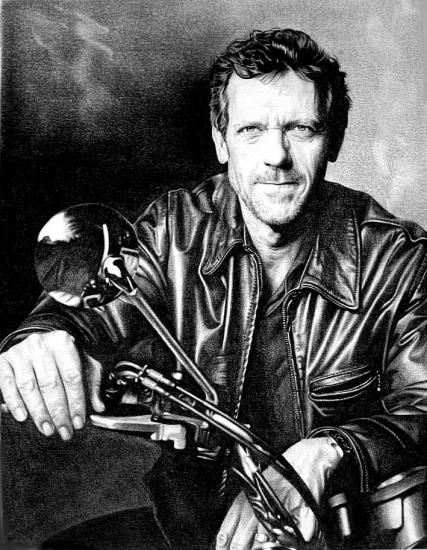 Hugh Laurie by Domine